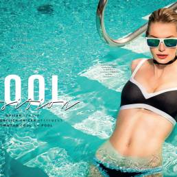 Bikini top & pant by Seafolly Sunglasse by Carrera